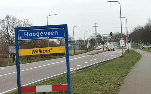 Geplande wegwerkzaamheden bij de kruising richting Fluitenberg.