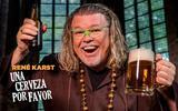 René Karst is voor zijn nieuwe clip het klooster in gegaan.
