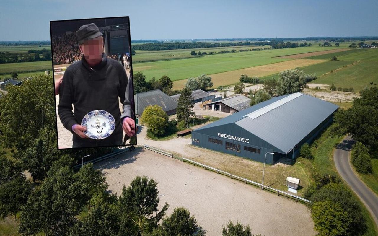 De Egberdinahoeve. Inzet: Jan B. toen hij in 2017 verkozen werd tot Fokker van het Jaar.