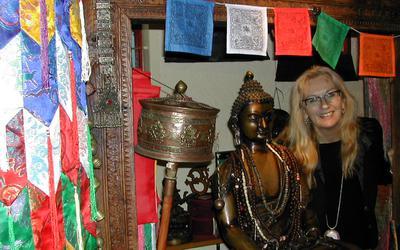 Florina Verwey uit Diever zegt nu echt te stoppen met haar winkel Lotusbloom.