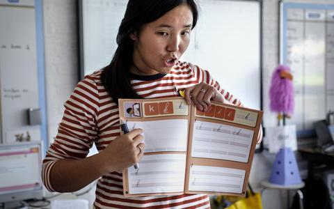 Diploma binnen en gelijk voor de klas
