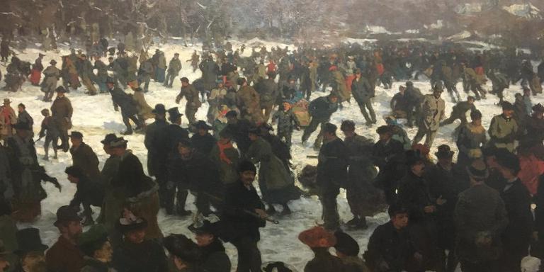 Schaatsenrijden (1891) Willem Bastian Tholen