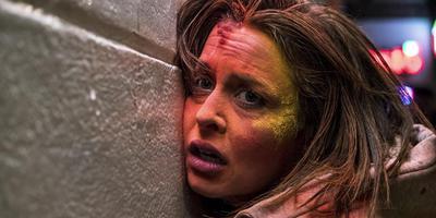 Susanne Wolff als de alcoholiste Marie in Bloody Marie.
