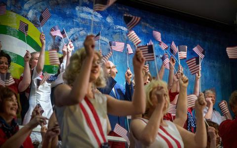 Amerika Amerika is een eresaluut aan musicalmaker Jos Brink
