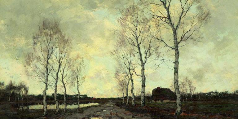 Ongekend Twee eeuwen Drenthe in schilderijen - Cultuur - DVHN.nl LG-77