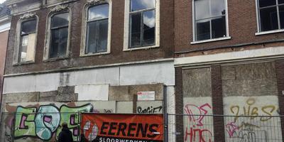 Karakteristieke panden in Winschoten worden gesloopt bij gebrek aan toekomst. Foto DvhN