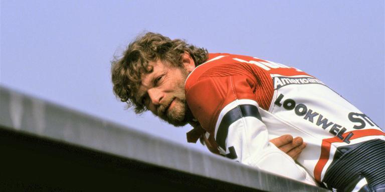 Zijspancoureur Egbert Streuer, de beste van allemaal. Foto Henk Keulemans