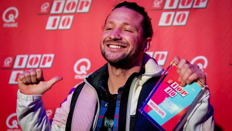 Kraantje Pappie kreeg vrijdag al een award voor best scorende Top 40-artiest van 2018. Bij Pop Gala Noord was hij niet aanwezig om de prijs in ontvangst te nemen. Foto: ANP/Kippa/Robin van Lonkhuijsen