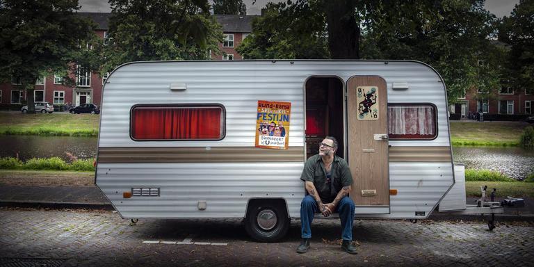Michiel Hoving toert met Rund-o-Rama langs zomerfestivals. Foto: Reyer Boxem