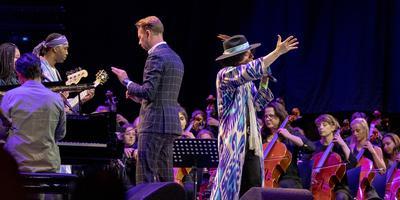 Het Noordpool Orkest met Jose James op North Sea Jazz 2019 in Rotterdam.