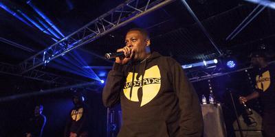 Simplon was al maanden uitverkocht voor het optreden van hiphopgrootheid GZA. Foto André Eggens
