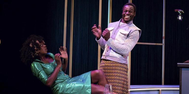 Stacyian Jackson en Michiel Blankwaardt in De Jokkebrokker van Maas Theater en Dans/Wat We Doen. Foto Nichon Glerum