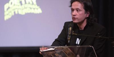 De laatste winnaar van VSB Poëzieprijs: Joost Baars. Foto Hielke Grootendorst