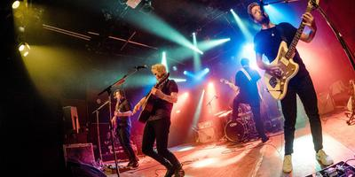 De Groningse alternatieve rockband Hollow Men speelt op woensdag 17 januari in House of the North. Foto Rob Kleinjans