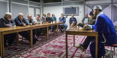 Bij een eerdere inloopavond (2015) was een delegatie van de PVV aanwezig.