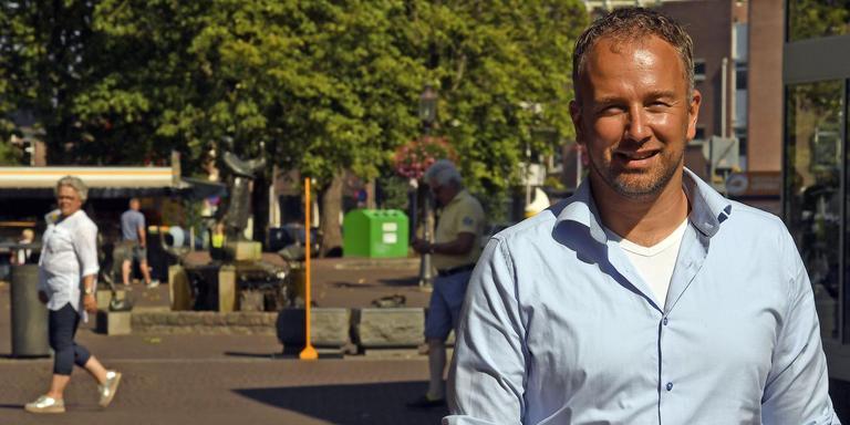 Mischa de Gier: ,,De Action zou in leegstaande winkelpanden kunnen die met elkaar verbonden worden.''