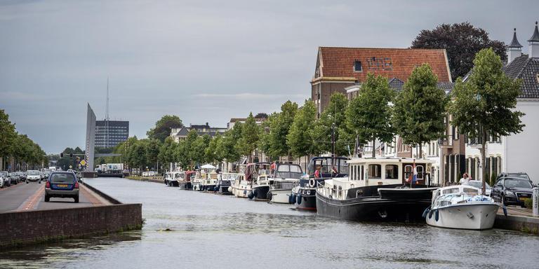 De miljoeneninvesteringen in BlauweAs leidt niet tot veel meer bootjes naar Assen. foto JASPAR MOULIJN