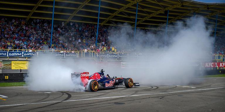Voorlopig geen Formule 1 wedstrijd in Assen. In augustus 2015 was Max Verstappen wel met de Formule 1 wagen van Toro Rosso Team Red Bull aanwezig op de e Gamma Racing Day.