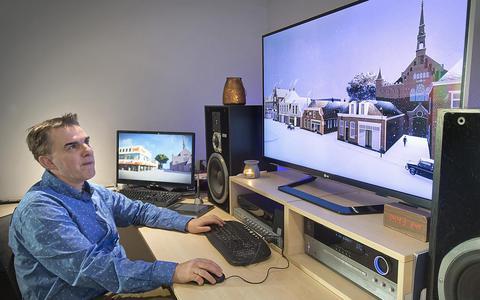 Historisch Hoogeveen komt tot leven in 3D-project