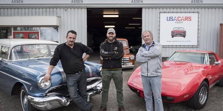 Rijden in een klassieke amerikaan 39 het is rock n roll for Garage patrick auto meyzieu