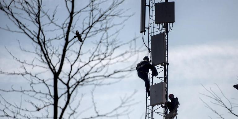Inwoners van Noordscheschut verzetten zich tegen de plaatsing van antennes. Foto: Archief DvhN