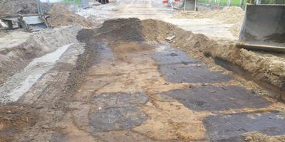 In Dwingeloo zijn urnen en overblijfselen van zogenoemde kringgreppels aangetroffen. FOTO RAAP