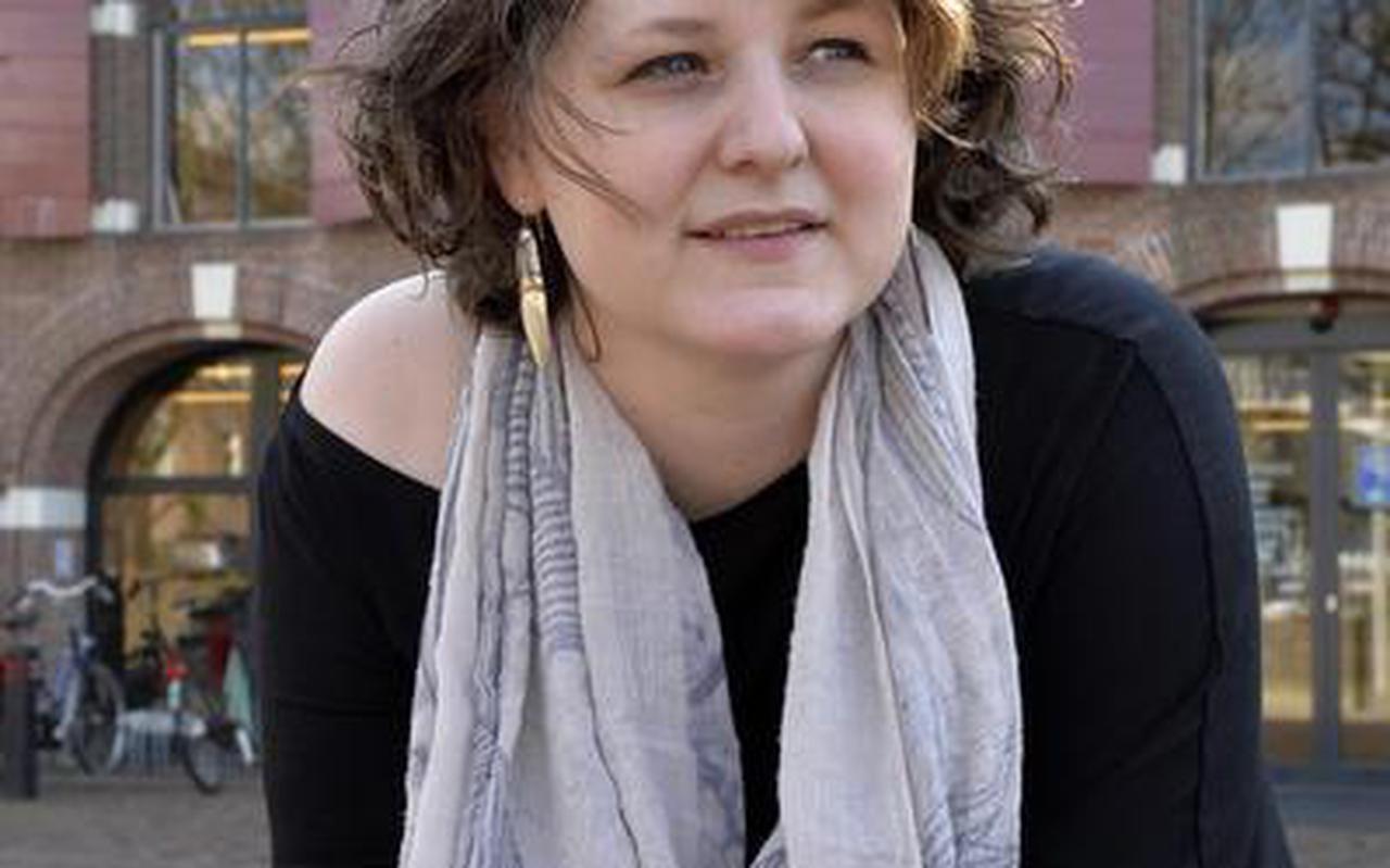 Sandra Muller: ,,Waar ik het meest trots op ben? Iemand die na een bezoek zegt dat een museum niet saai hoeft te zijn.'' FOTO BOUDEWIJN BENTING