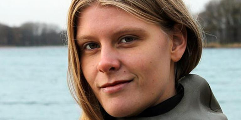 Jeanine Grasmeijer. Foto Bonaire Deepsea Challenge