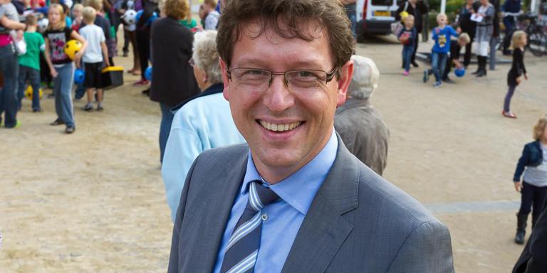 Burgemeester Roger de Groot kan door als burgemeester van gemeente De Wolden Foto DvhN/Gerrit Boer