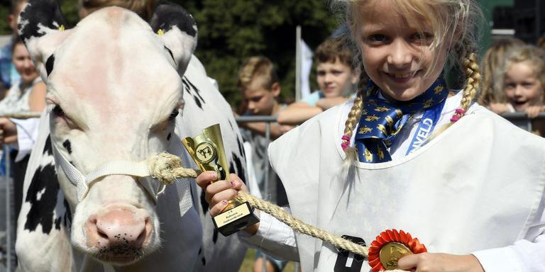 Kalf Rieta en Marin Snijders (8), een winnende combinatie uit Wachtum. Foto Boudewijn Benting