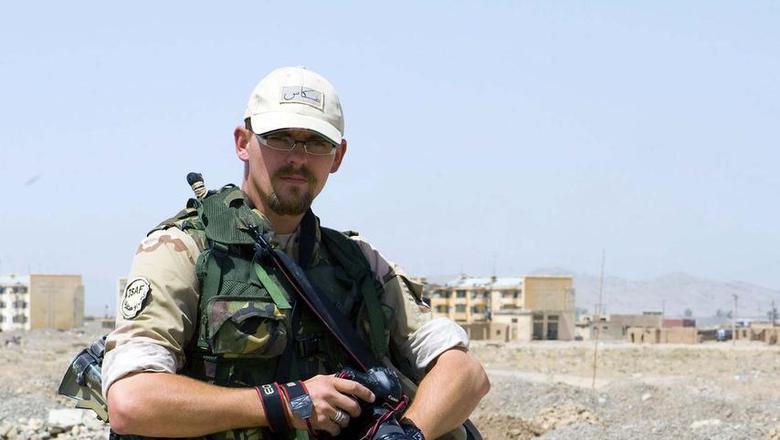 Ex-Defensiefotograaf Rinze Klein. Foto: Rinze Klein