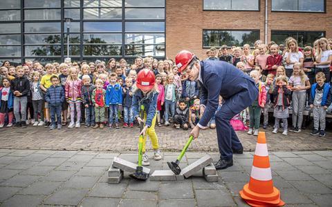 IKC Harm Smeenge in Beilen sluit jaar af met opening verbouwde school: 'Hier ben ik heel trots op'