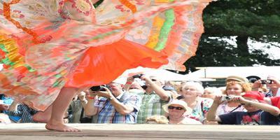 Sfeerbeeld van een van de laatste SIVO-festivals