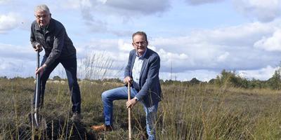Jan Suelmann (links) en Jo Nijensteijn. Foto: Boudewijn Benting