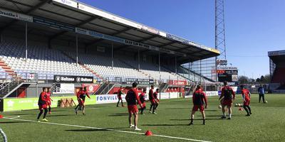 Training FC Emmen in De Oude Meerdijk. Foto: DvhN