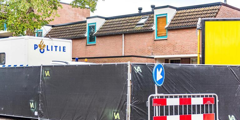 Deze week werd sporenonderzoek gedaan in de Groningse wijk Beijeum. De politie vermoedt dat het lichaam van Halil Erol (inzet) in dit huis in stukken is gezaagd. De 34-jarige Steenwijker werd in februari 2010 als vermist opgegeven.