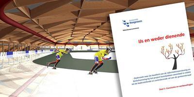 De Rekenkamer levert forse kritiek op het ijsbaanplan van Hoogeveen.