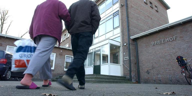 Deze opvang in Nieuw-Amsterdam gaat het Leger des Heils inruilen voor het oude postsorteercentrum in Emmen. FOTO DVHN