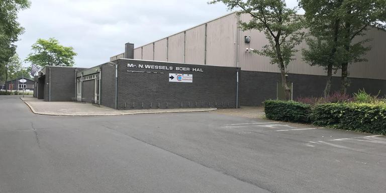 Op de plek van de huidige sporthal in Zuidwolde moet een mfa komen. Foto DvhN