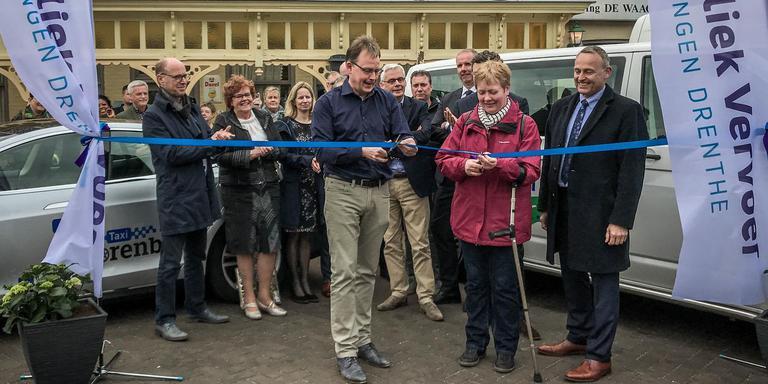 Publiek Vervoer ging in april 2018 officieel van start. Foto DvhN