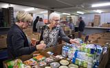 De voedselbank in Assen. Foto: DvhN/Jaspar Moulijn