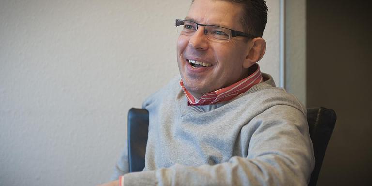 Wethouder Bouke Arends is de portefeuillehouder openbaar onderwijs in het college. FOTO JAN ANNINGA