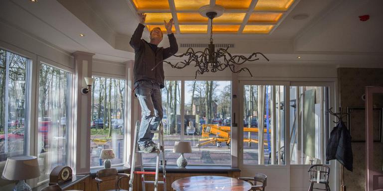 Het Brinkhotel in Zuidlaren opende, na drie maanden dicht te zijn geweest, begin dit jaar weer de deuren.