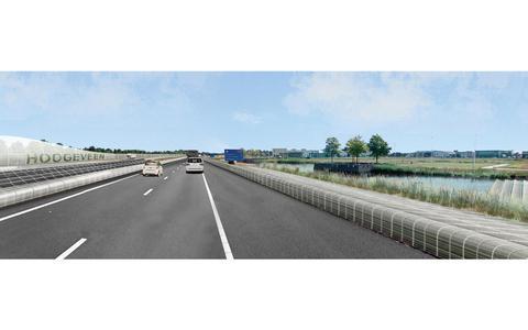 Zonneroute langs A37 tussen Klazienaveen en Hoogeveen