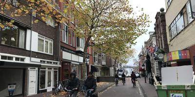 De Kerkstraat in het Asser centrum. Eigen foto