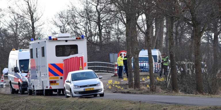 Onderzoek op de plaats delict. Foto: Van Oost Media