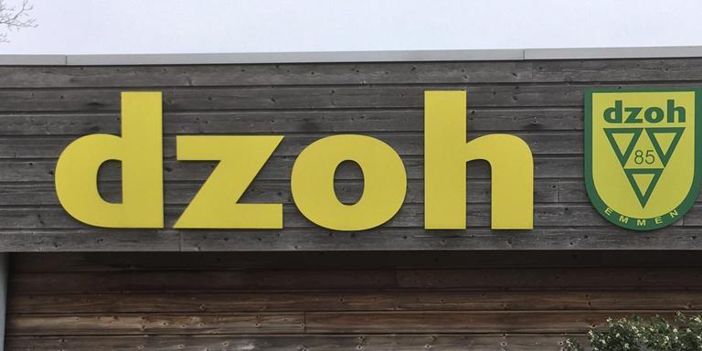 De Emmer voetbalclub DZOH moet het voorlopig zonder kunstgrasveld stellen. Foto DvhN