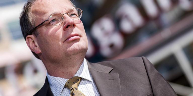 Bestuursvoorzitter Eric Janson kreeg een ontslagvergoeding van 75.000 euro. FOTO ARCHIEF DVHN