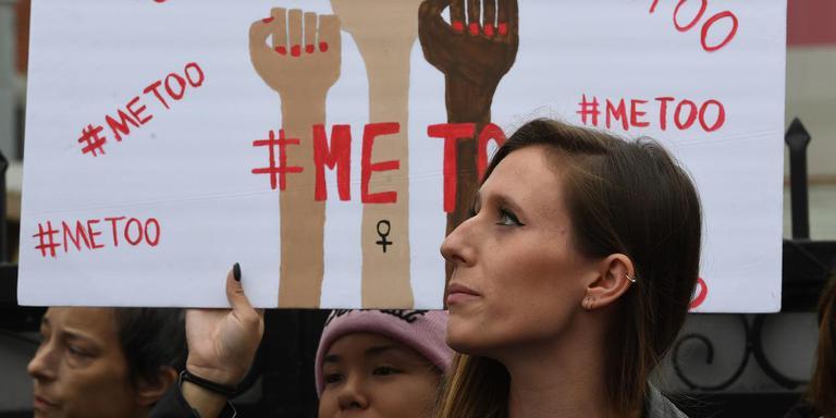 #MeToo zorgt ervoor dat er geen onbesproken issues meer zijn volgens RUG-hoogleraar Mineke Bosch. Foto: Archief AFP/Mark RALSTON