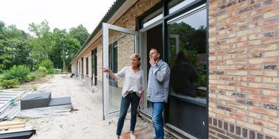 Alle seniorenwoningen krijgen een eigen terras. Foto Gerrit Boer